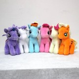 wholesale - My Little Pony Plush Toys Stuffed Animals 6pcs/Lot 25cm/10inch
