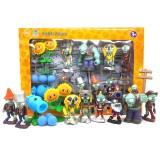 wholesale - Plants vs Zombies Action Figure Toys Shooting Dolls Gargantuar 10-in-1 Set in Gift Box