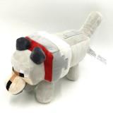 wholesale - Minecraft Baby Wolf Plush Toy Stuffed Animal 35cm/14Inch Large Size