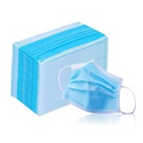wholesale - 50Pcs Set Disposable Face Masks 3 Layers Anti-Dust and Flu Masks for Virus Protection