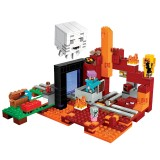 wholesale - MineCraft Lego Compatible The Nether Portal Block Mini Figure Toys 411Pcs 81057