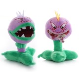 wholesale - Plants VS Zombies Plush Toy 2pcs Set - Chomper (Open Mouth) and Chomper (Close Mouth) 18cm/7inch