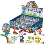 wholesale - 4Pcs Set Paw Patrol Lego Compatible Building Blocks Mini Figure Toys in Easter Eggs PPB-130312