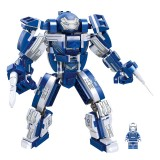Wholesale - Iron Man Mech Armor MK33 Block Figure Toys Building Kit Lego Compatible 425 Pieces JX60027