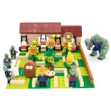 wholesale - Plants Vs Zombies Lego Compatible The Maze Building Blocks Mini Figure Toys 595Pcs JX90070