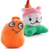 Wholesale - Plants vs Zombies 2 Series Plush Toy 2pcs Set - Cattail 15cm/6inch and Chili Bean 18cm/7inch