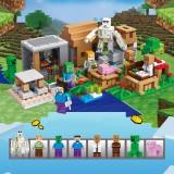 wholesale - Minecraft Lego Compatible Small Village Building Block Toys Mini Figures Set 30086