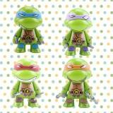 wholesale - 4Pcs Teenage Mutant Ninja Turtles Figure Toys Action Figures 7cm/2.75Inch Tall
