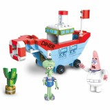 Wholesale - SpongeBob SquarePants Lego Compatible The Diner Ship Building Blocks Mini Figure Toys 030221