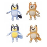 Wholesale - 4Pcs Set Bluey Plush Toys Bluey Family Bluey and Bingo Stuffed Animals for Kids 28cm/11Inch Tall