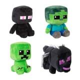 Wholesale - Minecraft Baby Series Plush Toys Enderman Zombie Creeper Ender Dragon Stuffed Animals 26cm/10Inch