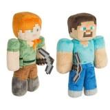 Wholesale - Minecraft Steve Alex Plush Toys Stuffed Dolls Big Size 30cm/12Inch