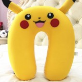 wholesale - Comfort Foam Particles U Neck Travel Pillow Cute Cartoon Pattern - Pikachu