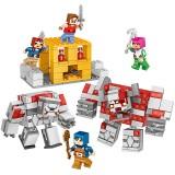 wholesale - MineCraft Lego Compatible The Redstone Battle Building Blocks Mini Figure Toys 63049