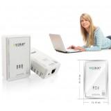Wholesale - 200M MINI EDUP-PLC5506 Power Ethernet Adapter Bridge Homeplug AV Powerline