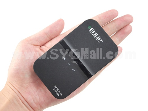 Wireless Portable 3G Mifi +Battery with SIM Slot Build in 3G Modem Mi-Fi Router