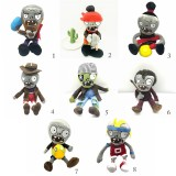 wholesale - 22Inch Big Size Plants VS Zombies Plush Zombies Toys Stuffed Dolls Ducky Tube Zombies Pirate Zombies