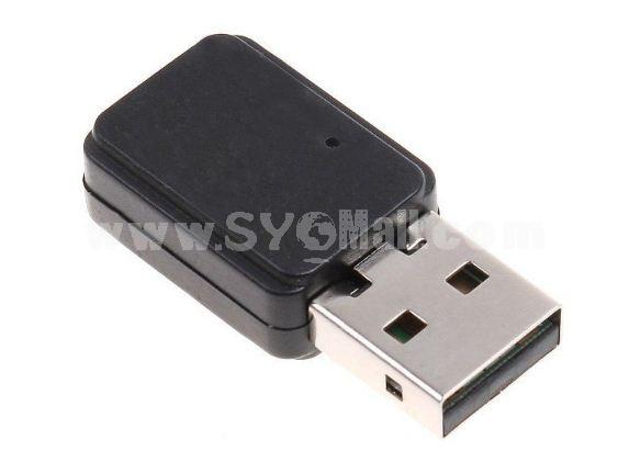 Mini 150Mbps WiFi Wireless Network Card 802.11n/g/b USB LAN Adapter