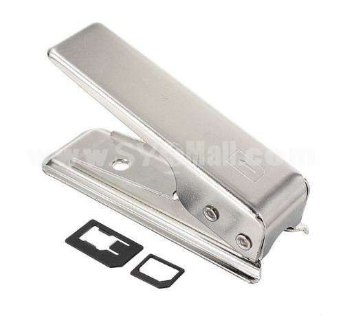 Stainless Steel Nano Sim Card Cutter for the New iPhone 5 5G