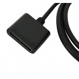 Wholesale - Dock Extender Extension Cable Male to Female For IPHONE