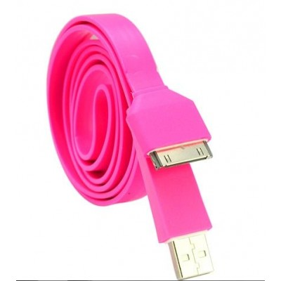 http://www.orientmoon.com/11922-thickbox/105cm-4134inch-length-usb-plug-silicone-charging-cable-of-noodle-design-for-iphone-ipod-ipad-pink.jpg