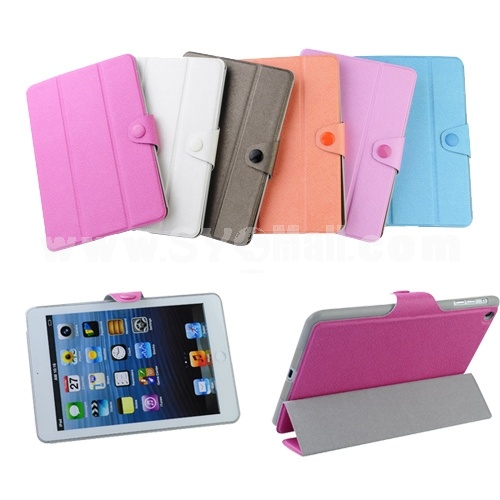 Simple Protective Cover Case for Apple iPad Mini - Six Colors to Choose