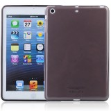 Wholesale - Simple Soft TPU Material Protective Back Cover Case for Apple iPad Mini - Dark gray
