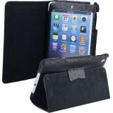 Wholesale - Soft PU Leather Case Protective Cover Pounch Stand for iPad Mini - Black