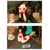 Wholesale - Warm fashion full finger gloves with heart shape