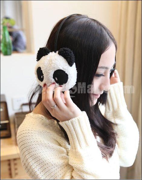 Cute animal earmuff