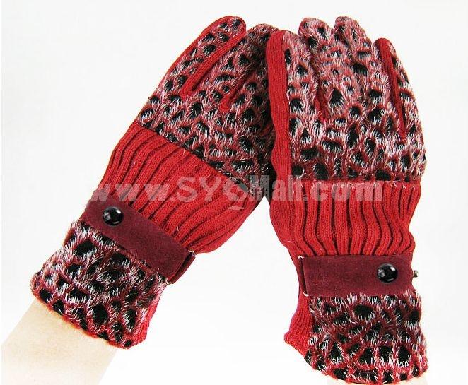 High quality warm women gloves