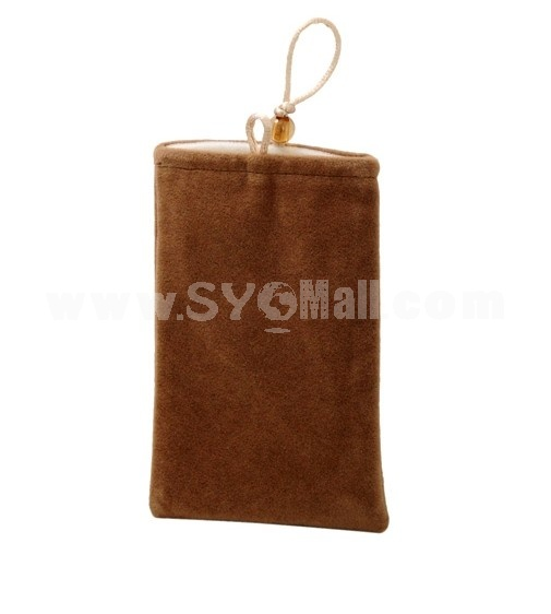 Protective Soft Cloth Case for Apple iPhone 4G