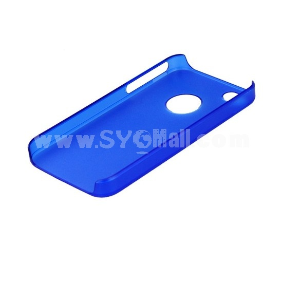 Lightweight Dull Polish Back Case Cover for iPhone 4/4S-Blue