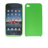 Wholesale - Plastic Skin Case Green for Apple iPhone 4G OS 4