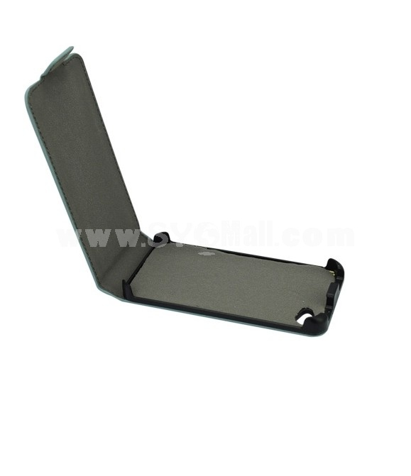 Magic Girl Series Leather Cover Case with Magnet Buckle for iPhone 4/4S-Off-white