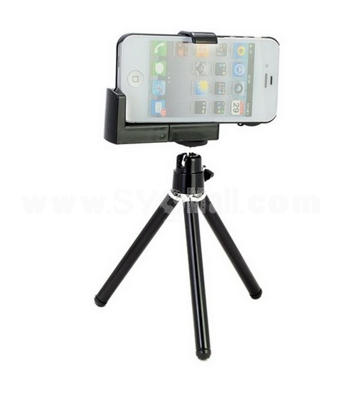 8X Zoom Telescope Magnification Camera Lens Kit + Tripod + Case for Apple iPhone 4 4S 4GS
