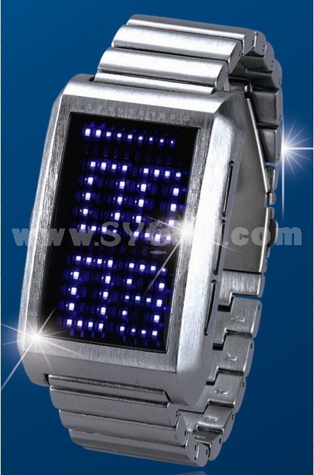 High taste unique promotional gifts LED watch