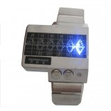 Wholesale - White doctor binary led watch