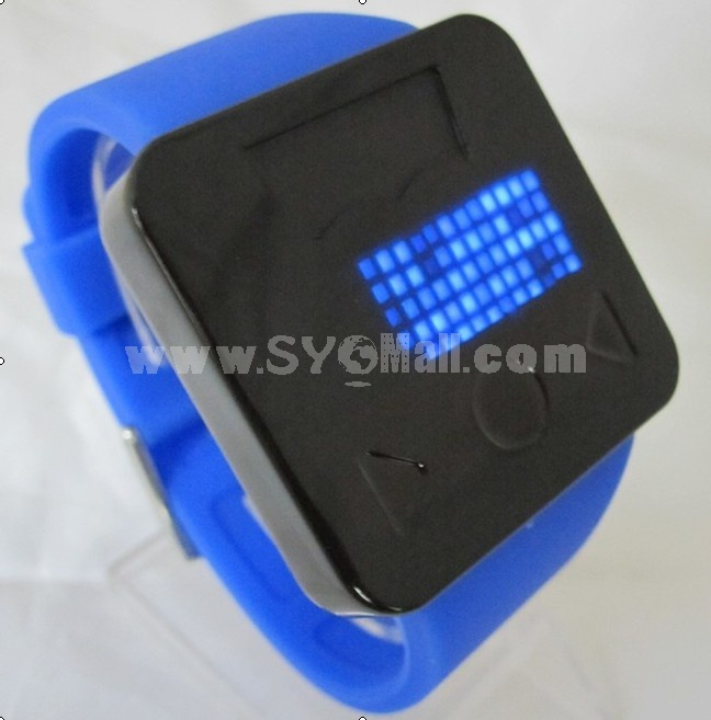 2012 popular and hot touch screen led watch