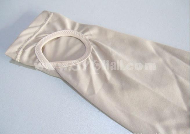 Sexy Cotton Women Silicone Pad Panties/ Long pattern (YTL010)