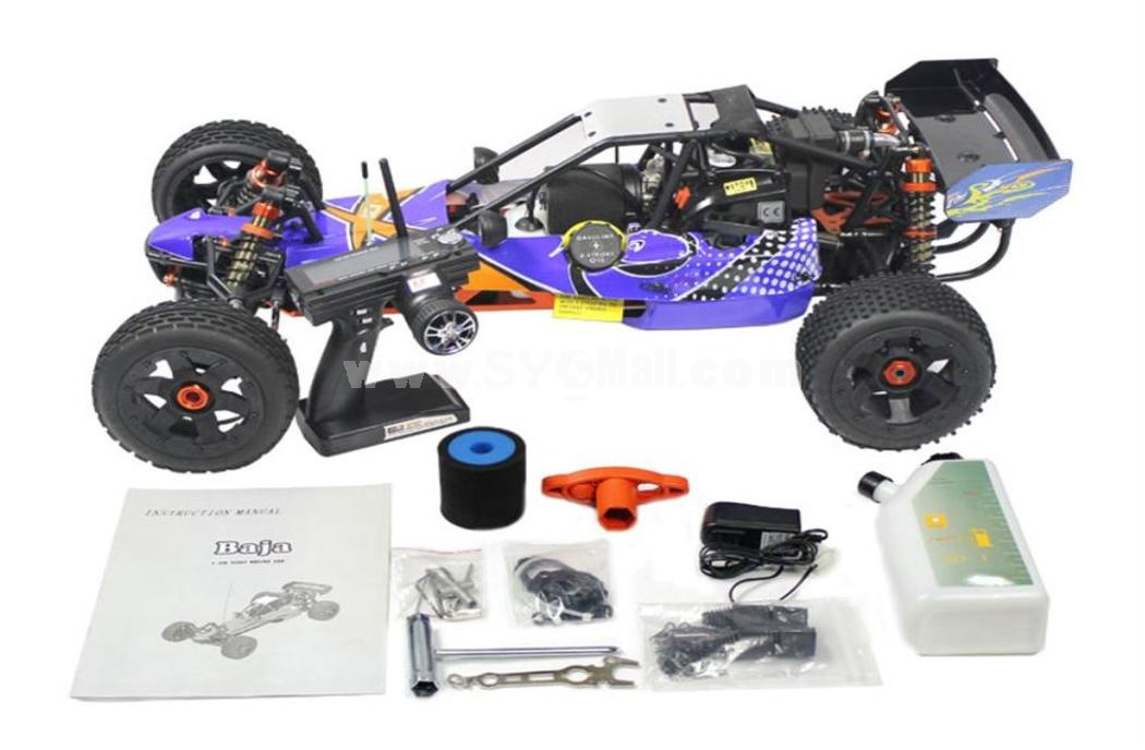1/5 Scale 26cc RC car/Baja with 3 Channel 2.4G Transmitter (260B)