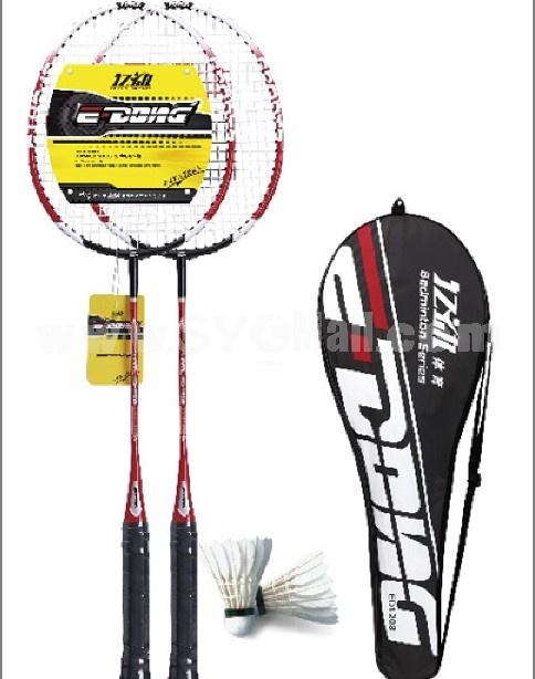 Ferroalloy badminton racket E-1208