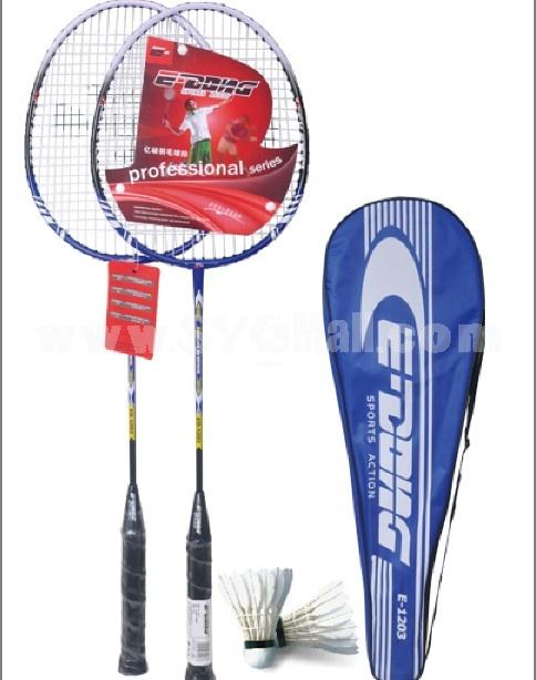 Ferroalloy badminton racket E-1203