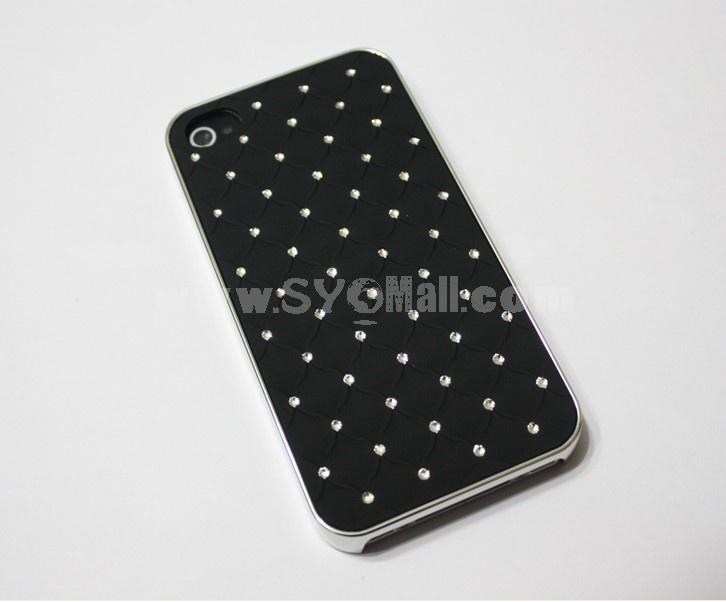 Black Luxury Rhinestone Crystal Cross Diamond For iPhone 4 4S