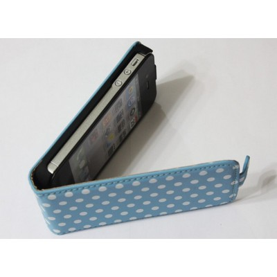 http://www.orientmoon.com/14136-thickbox/blue-polka-dot-leather-flip-case-cover-pouch-for-iphone-4-4s.jpg