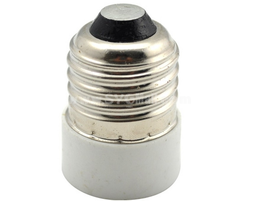 E14 to E27 Light Lamp Bulb Adapter Converter