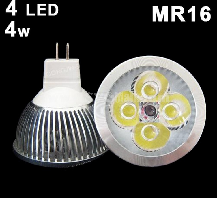 MR16 4*1W LED Down lamps Spot Light Cool White 4W