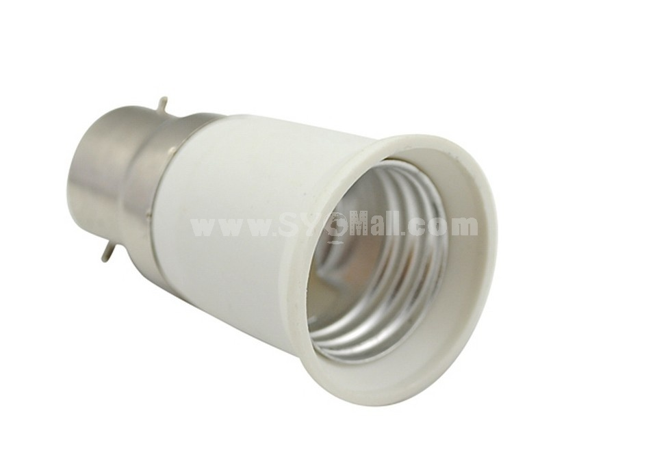 E27 to B22 Base LED Light Bulb Lamp Adapter