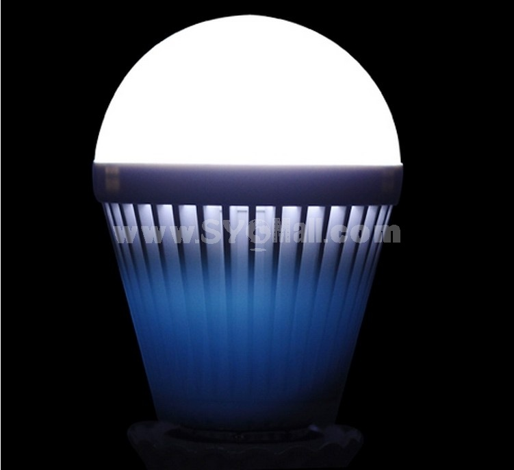 E27 AC100-240V 50Hz 9W 720LM White Light Energy Saving LED Bulb
