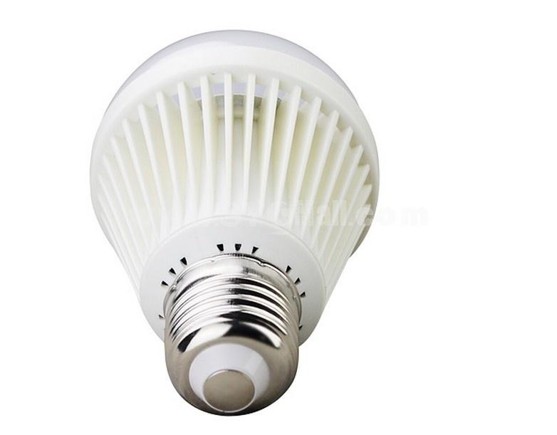 E27 AC100-240V 50Hz 5W 400LM Warm White Light Energy Saving LED Bulb